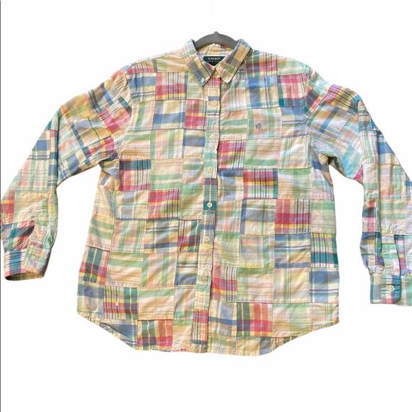 Ralph Lauren cotton patchwork button down